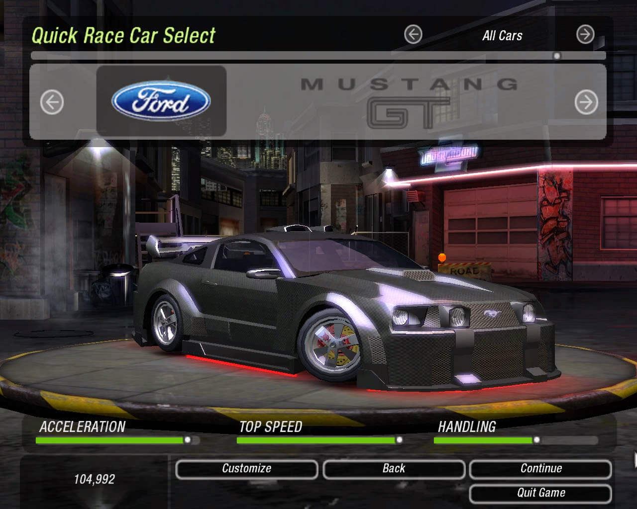 Need For Speed Underground Full Version ~ Place of Game
