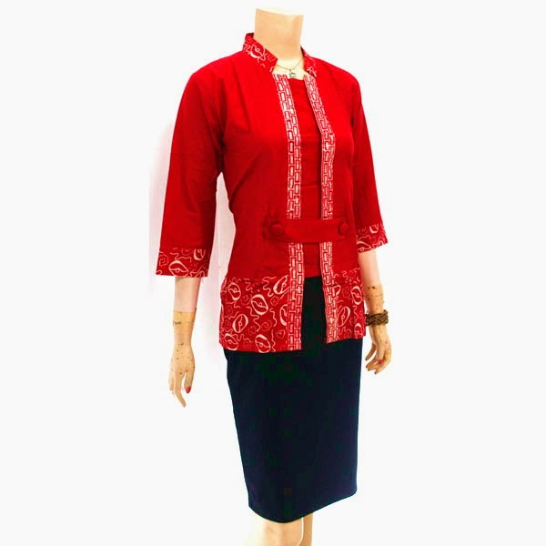 Blus Batik Kutu Baru Solo | Batik Cap