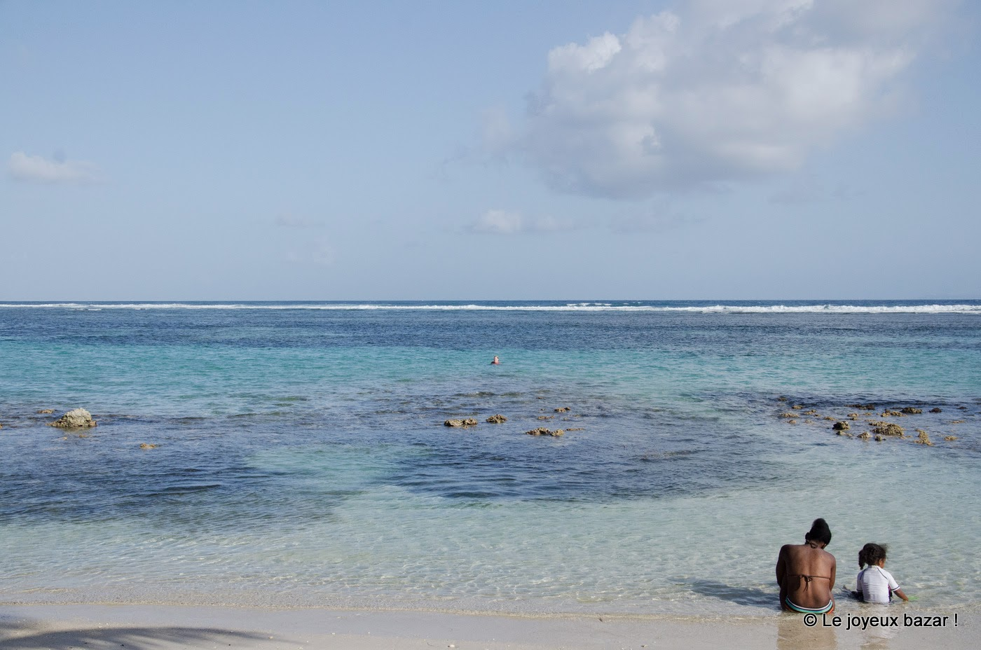Guadeloupe - plage de Sainte Anne