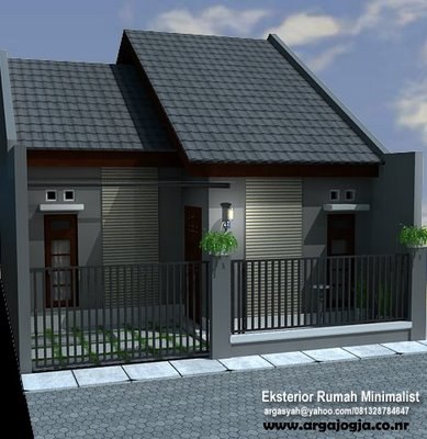 gambar rumah minimalis satu lantai on Blog G3rs: CONTOH DESAIN RUMAH MINIMALIS
