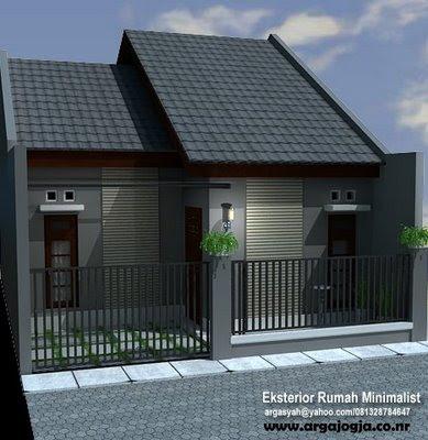 gambar rumah depan on Gambar Rumah Minimalis