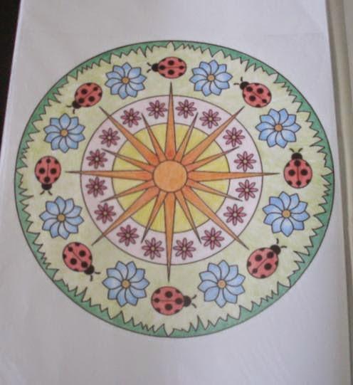 imagens para colorir joaninha - Desenho de Joaninha com 22 pintas para colorir