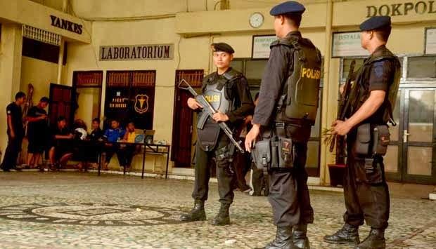 Densus 88 Tembak Mati Terduga Teroris di Bone