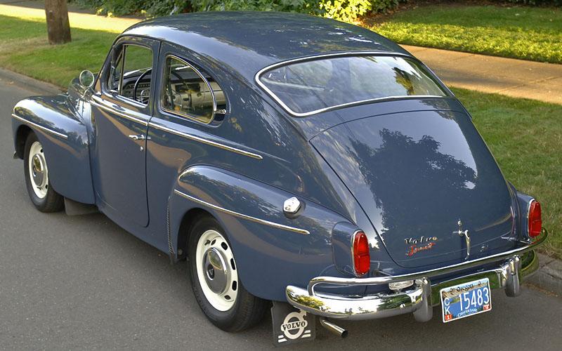 Cascadia Classic - Vintage cars in Portland Oregon: 1963 Volvo 544