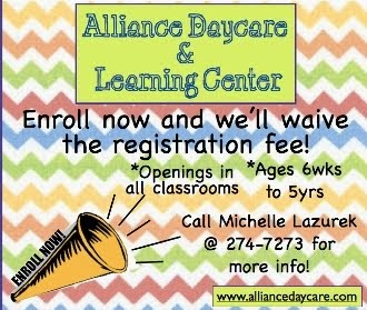 Alliance Daycare Registration