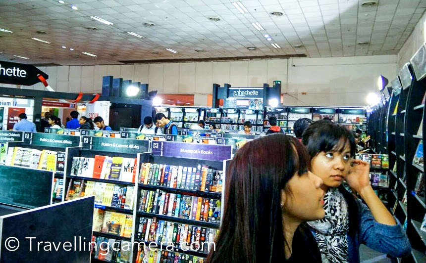 The annual World Book Fair at Pragati Maidan is one of the most looked forward to event in Delhi's calendar. And each year it is reassuring to see thousands of people pour in and pick up books. It kind of restores some faith in humanity. A population that likes to read cannot be all bad after all.Exploring the book fair completely is no easy task. Spread across several halls, the fair requires one to walk not only within the huge halls, but also around almost the whole of Pragati Maidan. Even the most enthusiastic book lovers are thankful for the shuttles that ply from stall to stall every few minutes.Photo Credits - Book Lover's mandali - Dr Bharati Malhotra, Priyanka Kharbanda & Vibha Malhotra