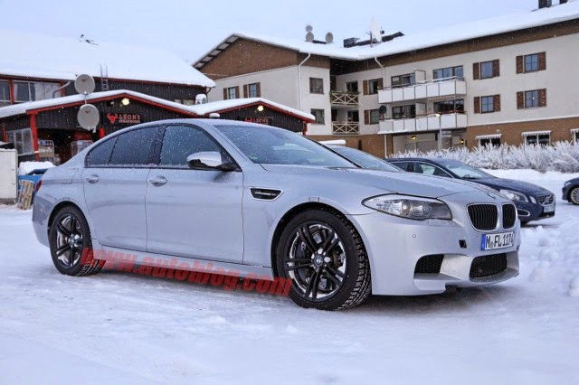 AWD BMW M5 is in the making