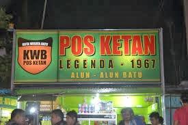 Wisata Kuliner Malang - Pos Ketan Legenda Batu