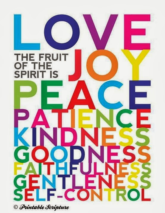 But the fruit of the spirit is love joy peace for Fruit of the spirit goodness craft