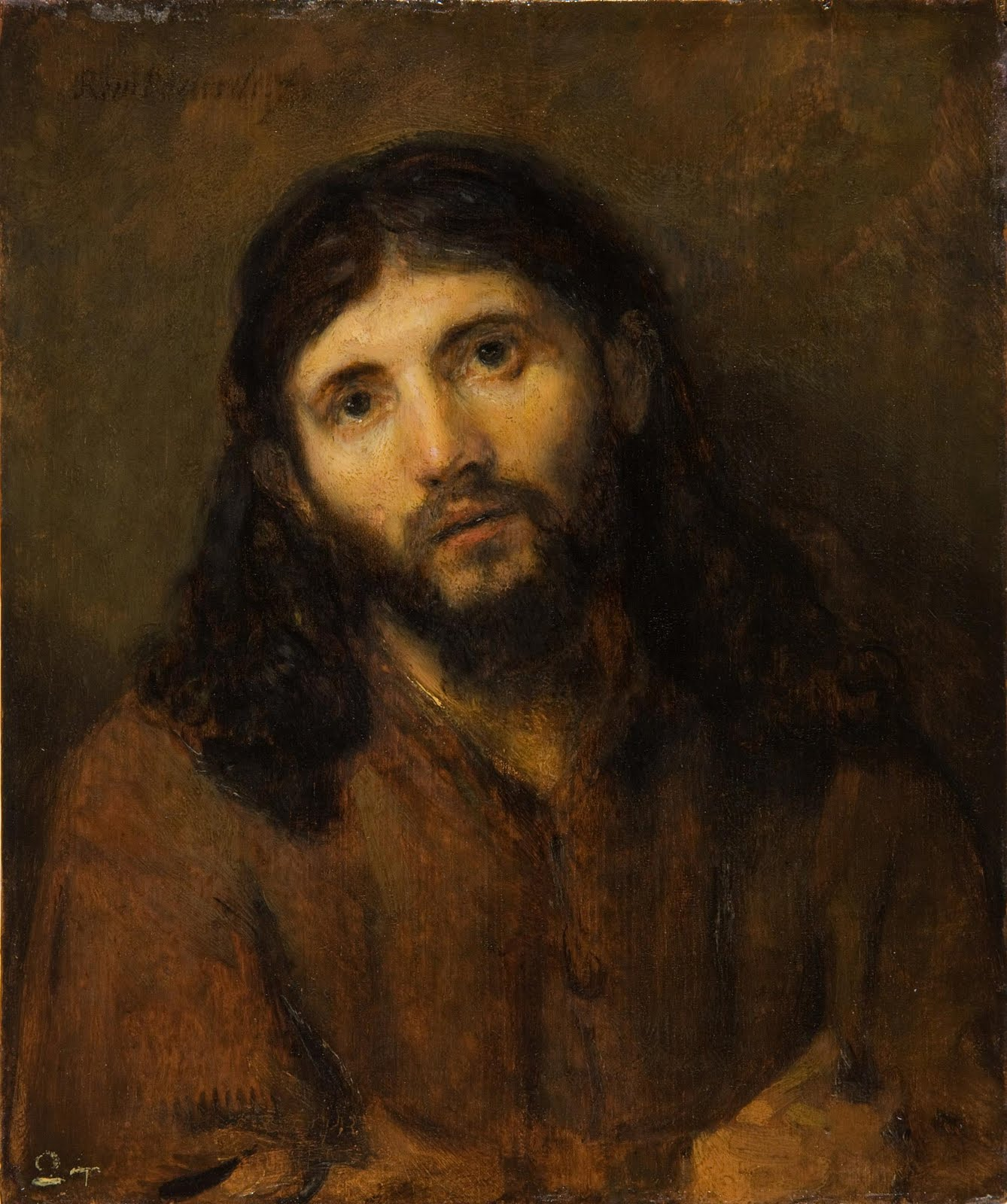 Idle Speculations  Rembrandt And The Face Of Christ