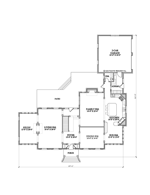 Southgate residential the mcallister a new pre designed plan for Pre designed home plans