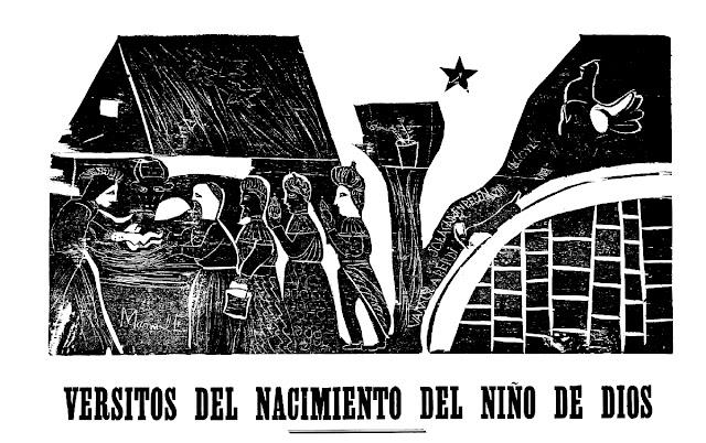 Versitos Del Nacimiento Del Niño Dios Del Pueta José Hipólito