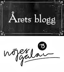 årets blogg 2013