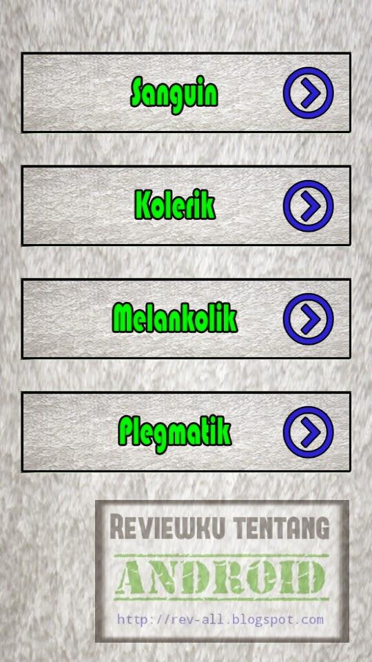 4 temperamen tes kepribadian - aplikasi android tes untuk mengetahui temperamen (rev-all.blogspot.com)