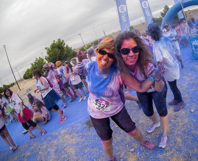 Holi Run Zaragoza 2015 Puerto venecia holirun