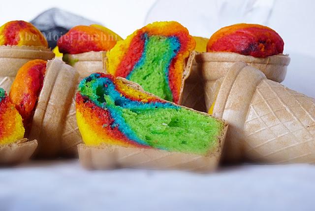 muffiny tęczowe