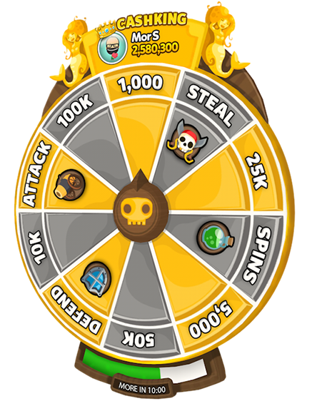 Hack cheat spin Pirate Kings