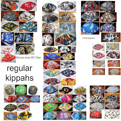 Kippahs or yarmulkes handmade cotton in many great styles