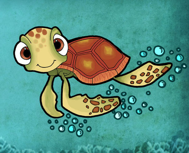 squirt on finding nemo