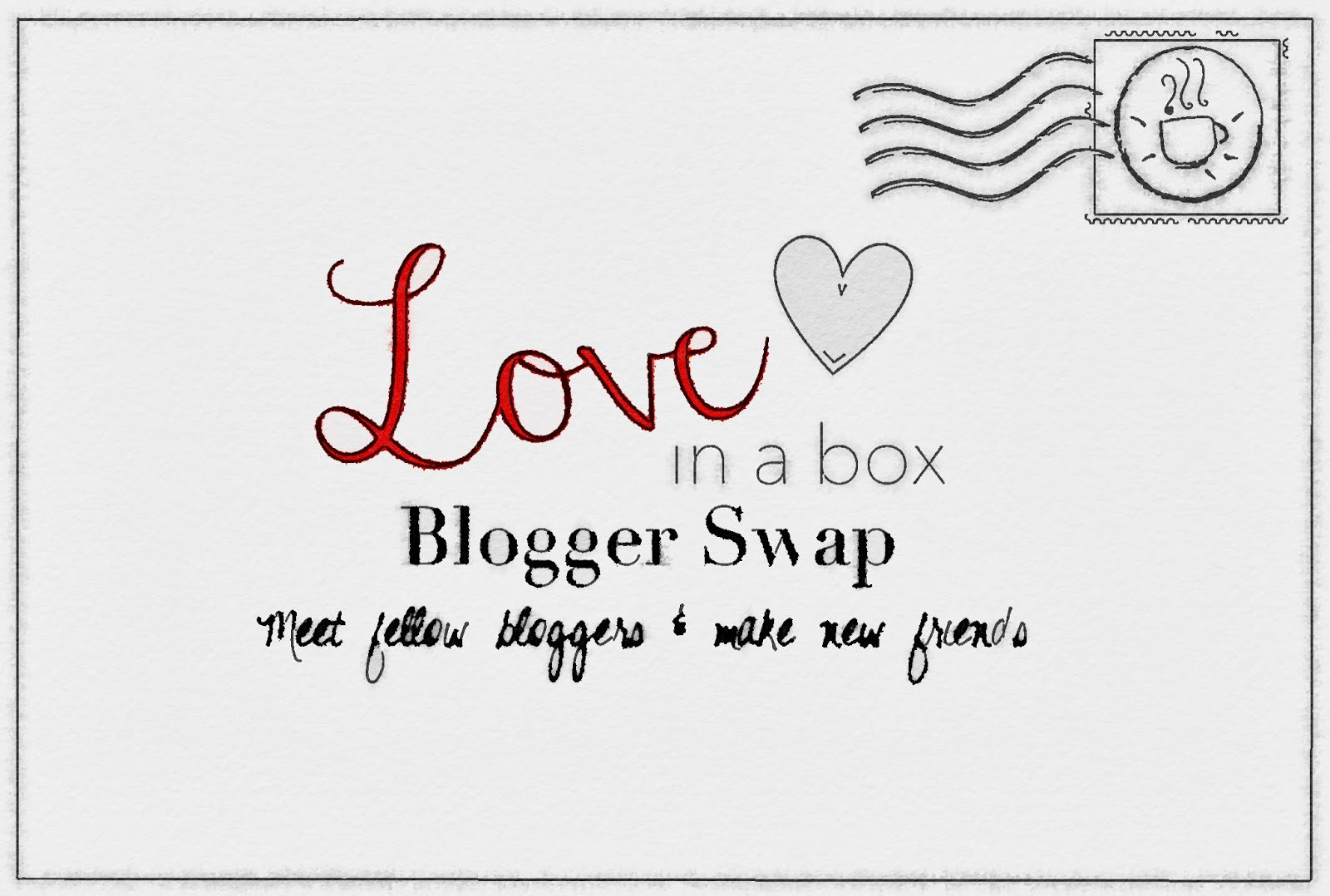 Love in a Box Blogger Swap Kimberly's Chronicle Letter Snail Mail