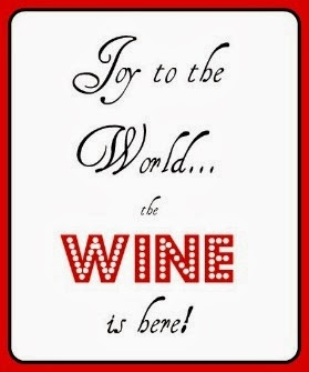 ... so here are some of my latest and greatest holiday wine humor finds