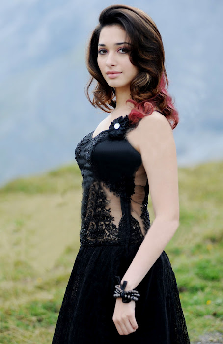 Tamanna in Black Dress Photo Gallery, Tamanna , Tamanna  new pics, Tamanna  hot pics, Tamanna  cute pics,tamil movies, tamil Actress Gallery,Actress Gallery,Actress Hot