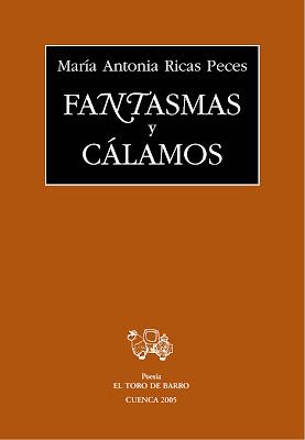 Wilver Moreno Tineo. Libro recomendado: Fantasmas y Cálamo, de Maria Antonia Ricas, El Toro de Barro, Tarancón.