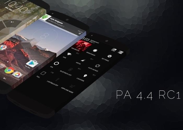 Paranoid Android lanza su versión más estable con Android 4.4.3 KitKat.