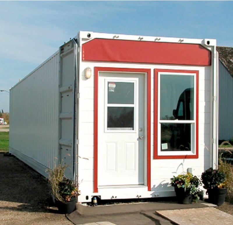 Casas contenedores casa con container de 40 pies - Casas de containers precios ...