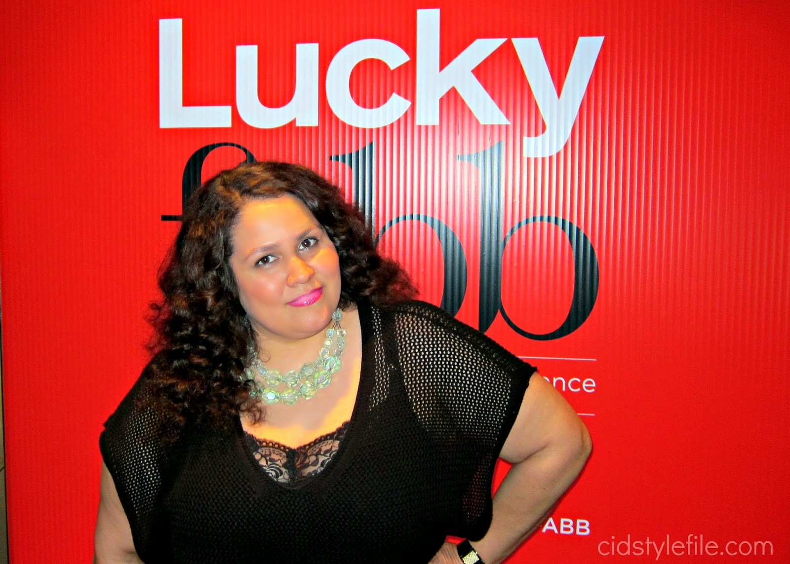 blow me away, dry bar, #luckyfabb, sls hotel, plus size fashion, latina blogger, lucky magazine, straight hair