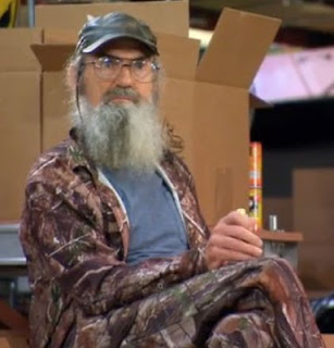 Uncle Si Robertson in Warehouse