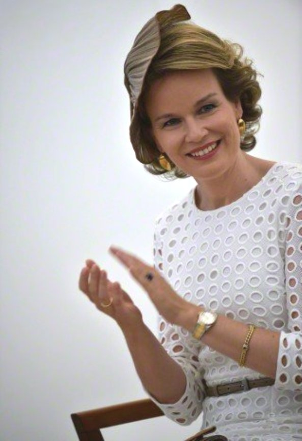 Queen Mathilde Attends Award Ceremony Of Queen Elisabeth Violin Competition