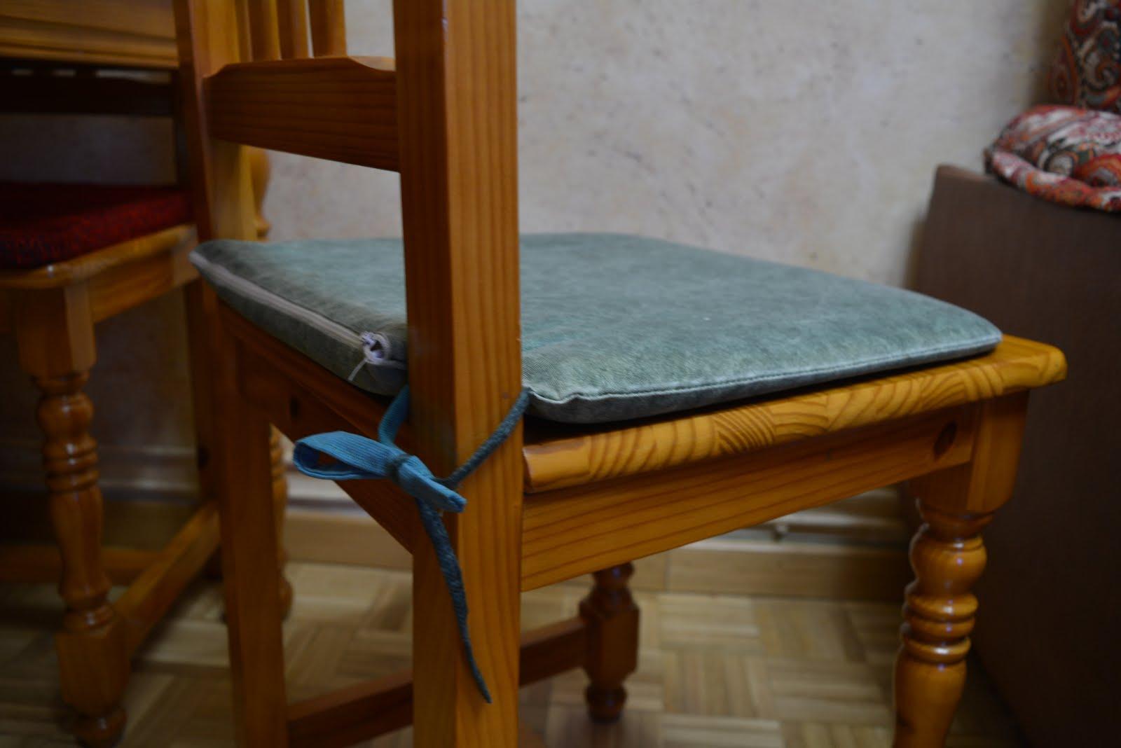 Bichinas fundas de cojines para sillas - Cojines para silla ...