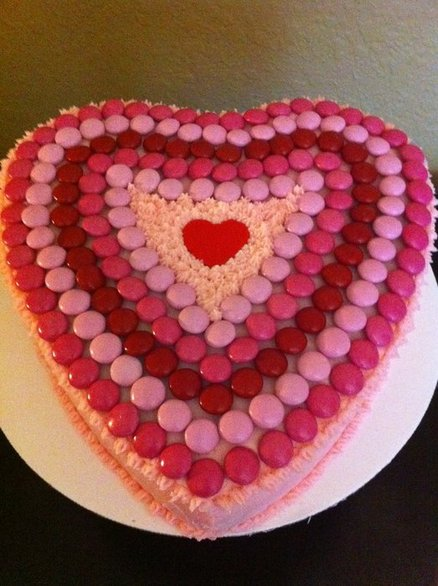 Heart Shape Cake Decoration At Home : Valentine s Day Cake... Daily Dish Magazine Recipes ...