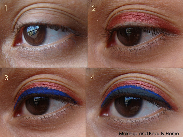 Triple Eyeliner Look - Photo Tutorial