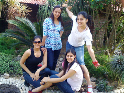 taapsee rare with her friendsfamily