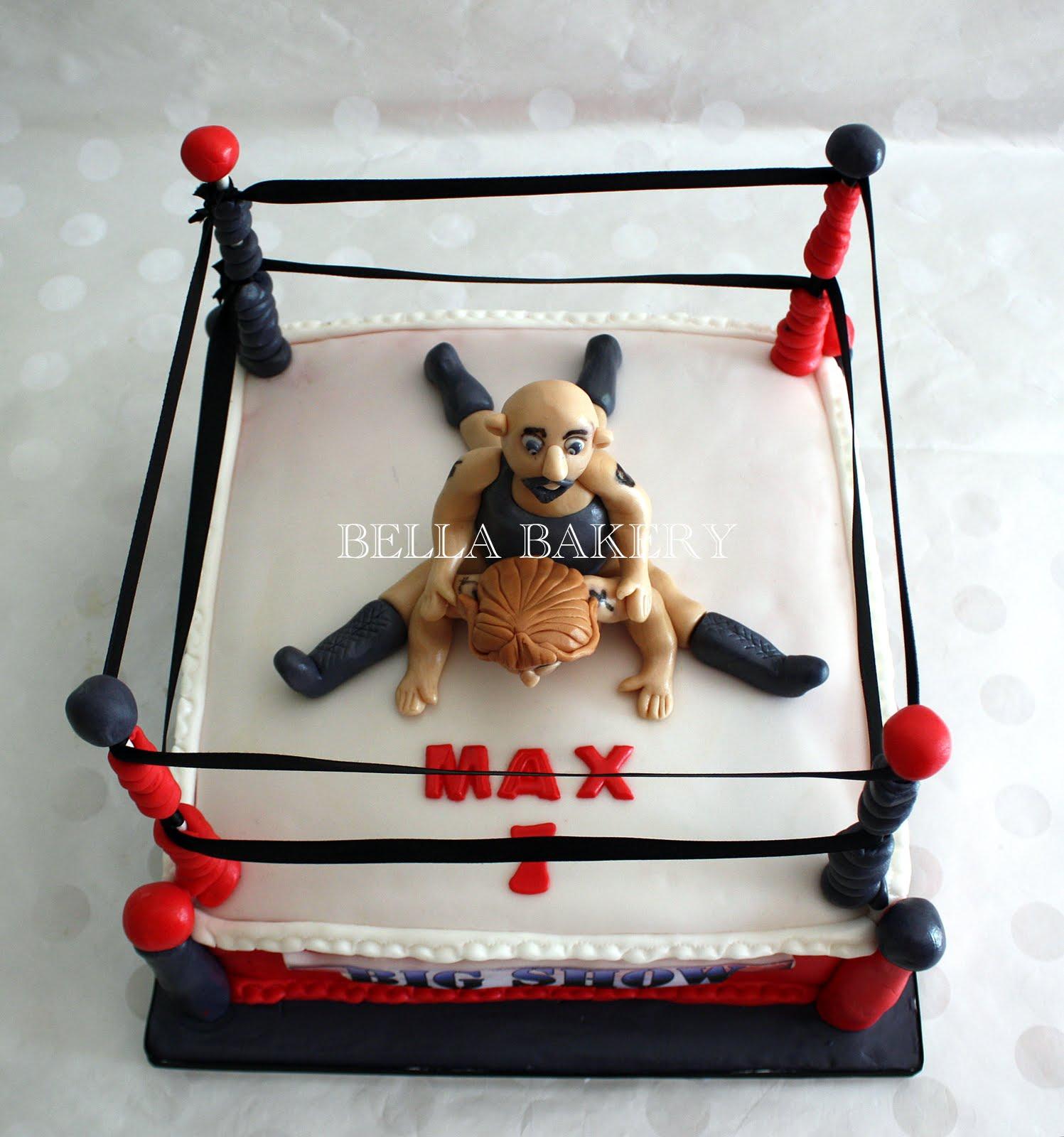 Wrestling Cake Pops