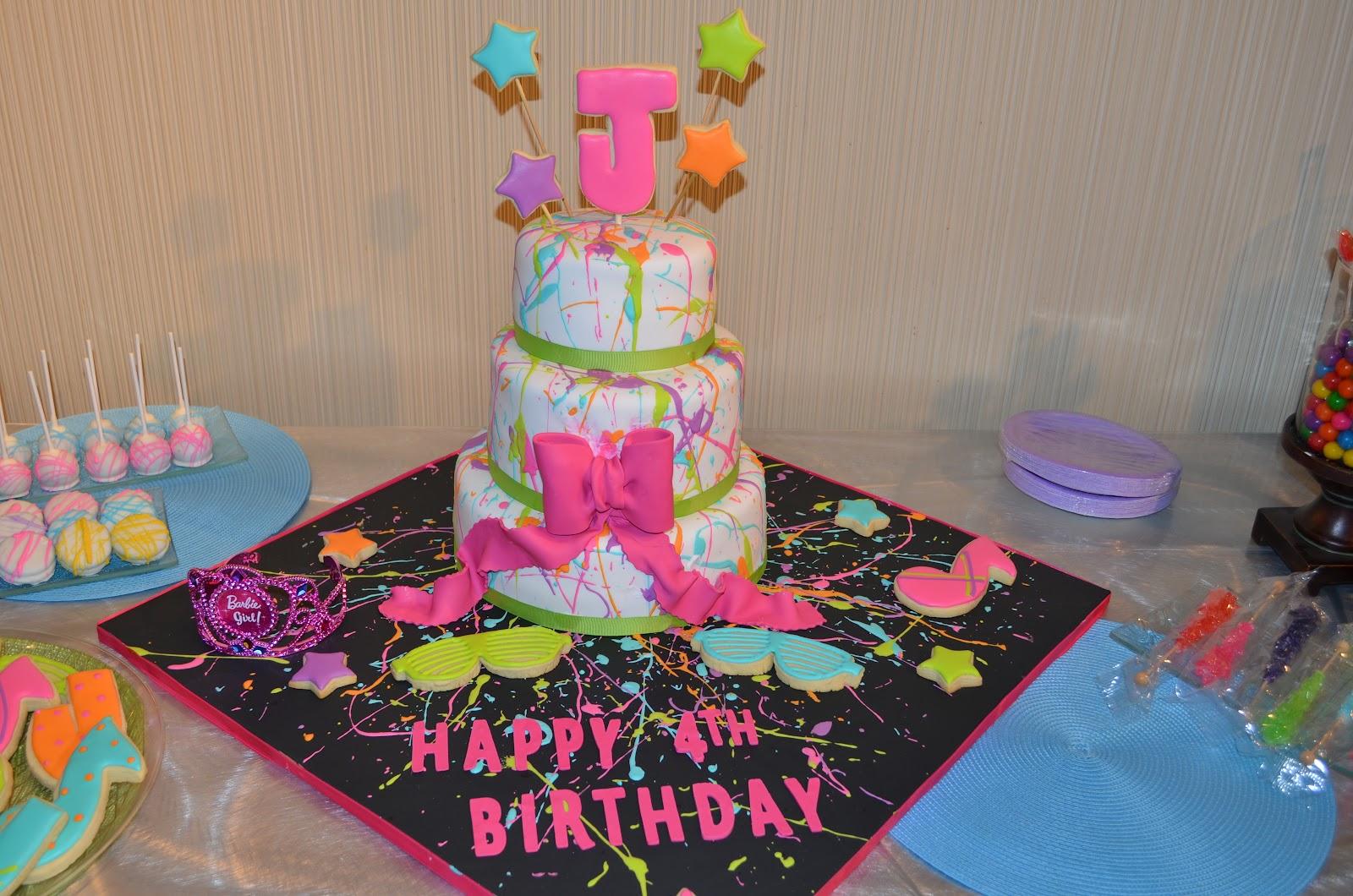 Samore Cake Nicki Minaj Themed 4th Birthday Party