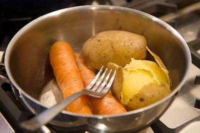 perunaa ja porkkanaa