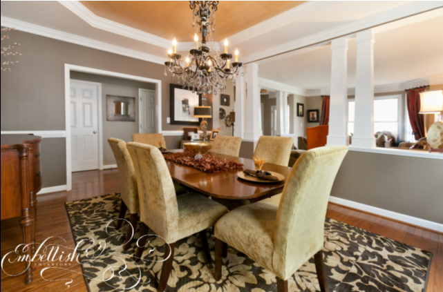 Embellish: Dramatic Dining Room