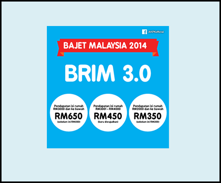 Permohonan Bantuan Rakyat 1Malaysia (BR1M) 2014