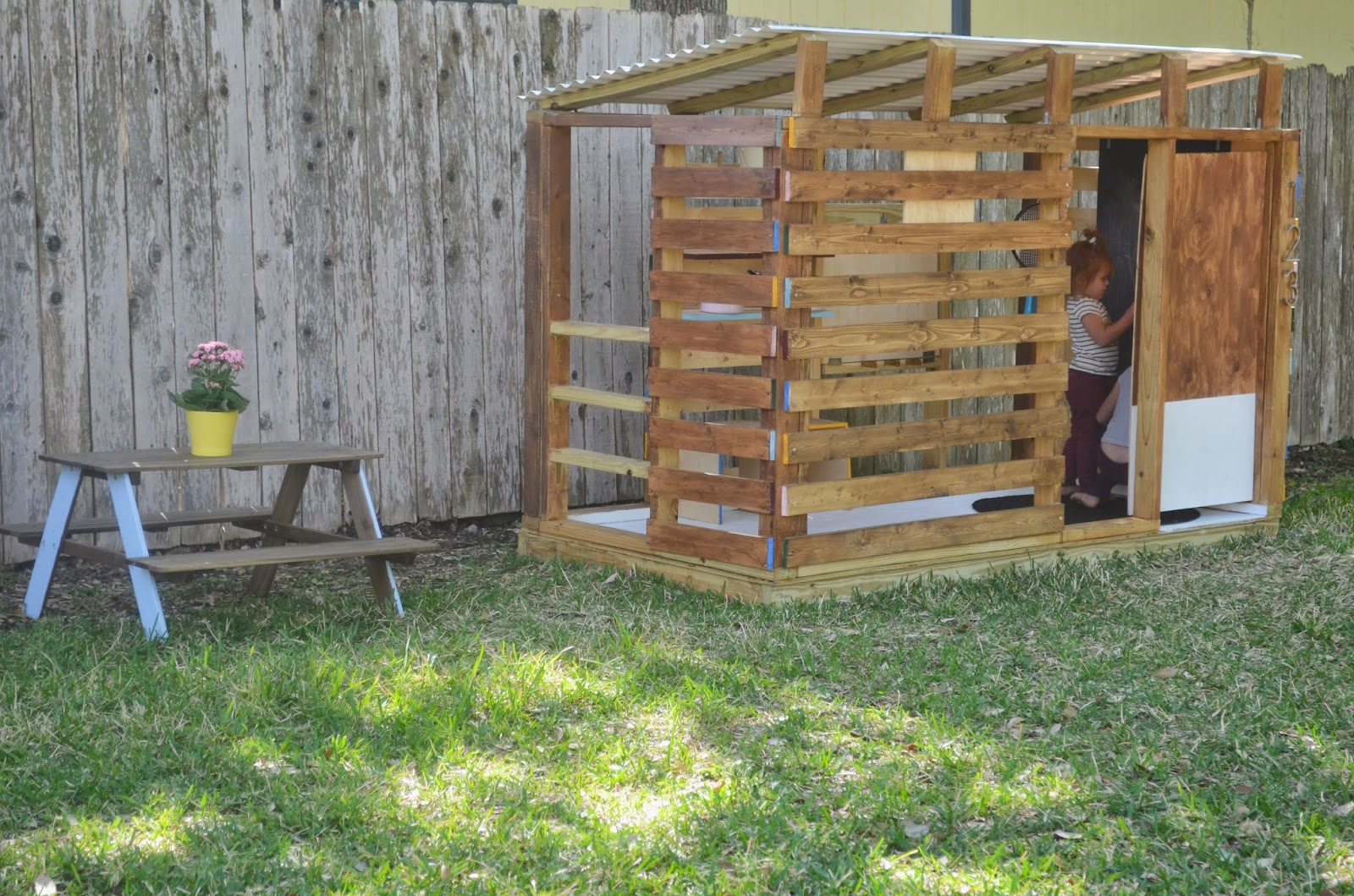 Diy Playhouse With Diy Playhouse Latest Recycled Pallet