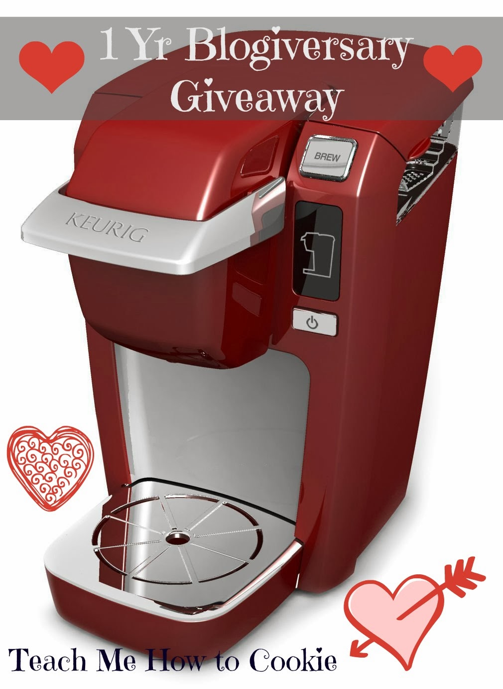 Red Keurig Mini Brewer Giveaway