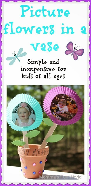 http://mommasfunworld.blogspot.ca/2013/05/handmade-picture-flowers-in-pot.html