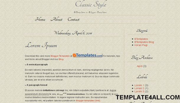 Free Blogger Purple Carpet Buttons Template