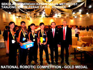 MES Juara Robotik Kebangsaan 2012
