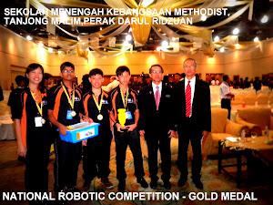 MES Juara Robotik Kebangsaan 2012