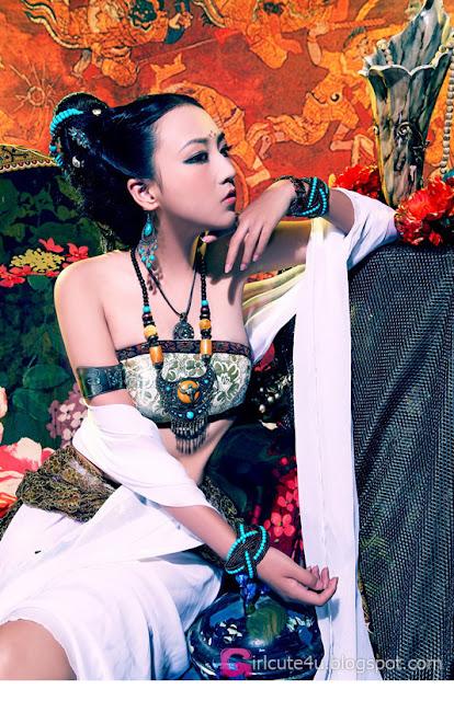 1 Flowery Meijuan-very cute asian girl-girlcute4u.blogspot.com