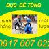 Khoan cắt bê tông Biên Hòa Đồng Nai: 0917 007 022