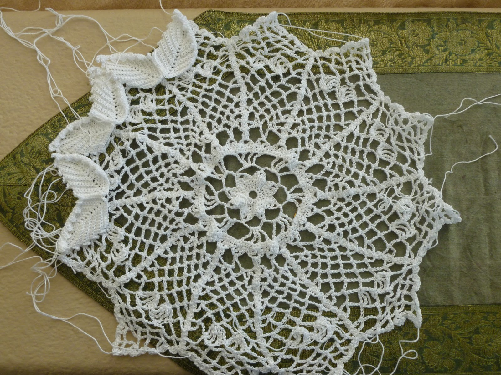 Lilly My Cat: Vintage Crochet Doily Pattern and Baby Booties
